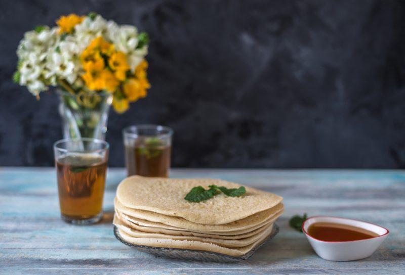 Марокканские блины по рецепту из провинции Гардайя