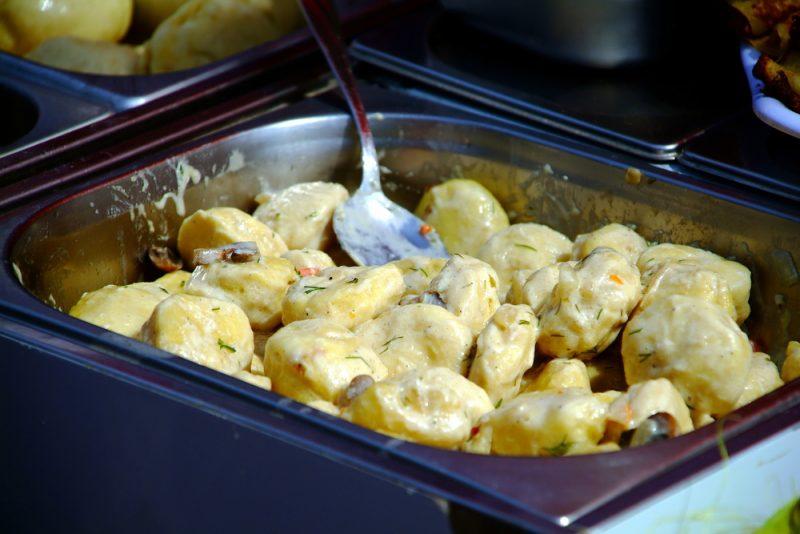 Картофельные клецки: рецепт с фото