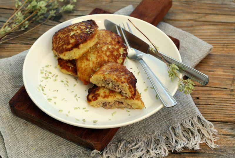 Мясные драники из картошки: рецепт со смешанным фаршем