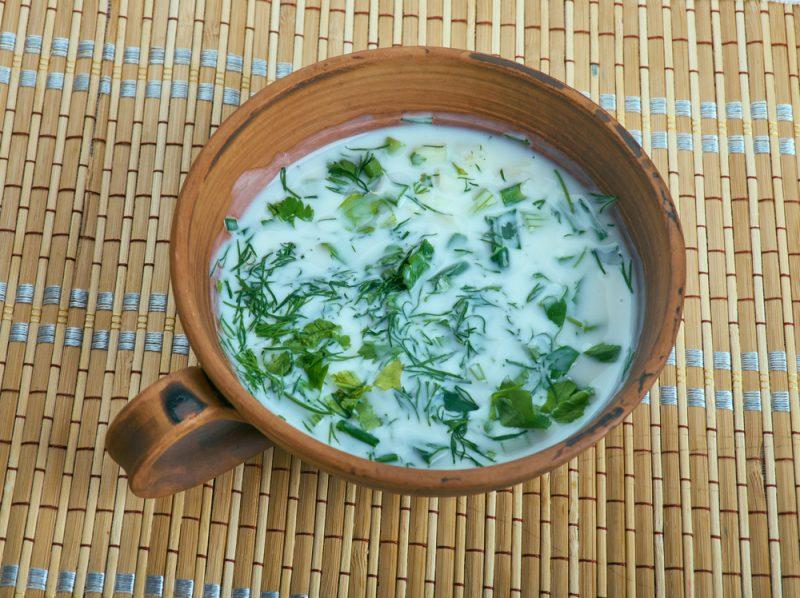 Освежающий суп спас