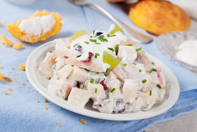 Оригинальный салат сациви из курицы: рецепт с фото пошагово