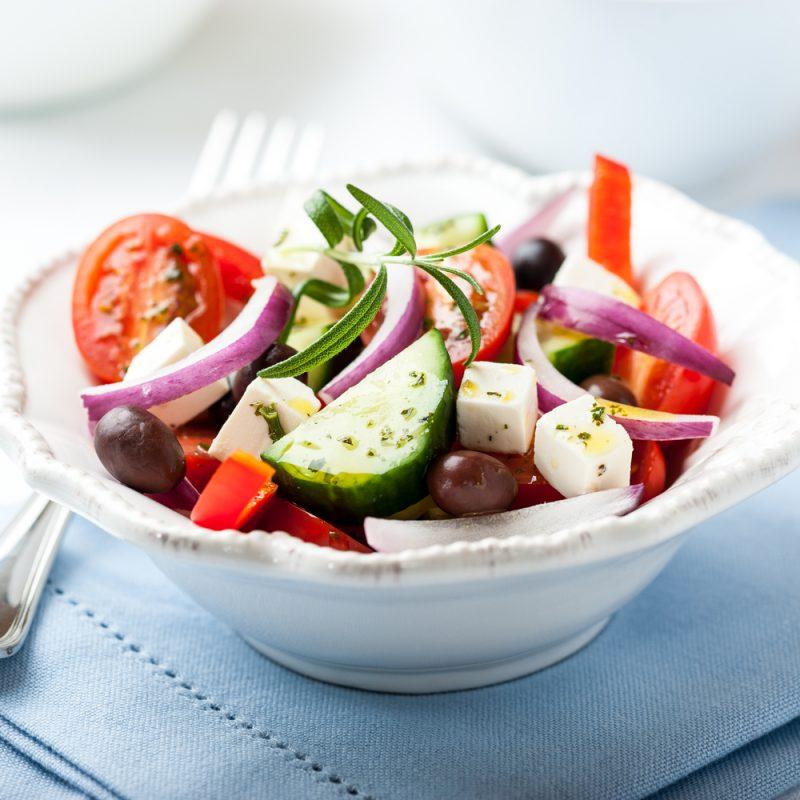 Греческий салат: вариация с акцентами из провинций
