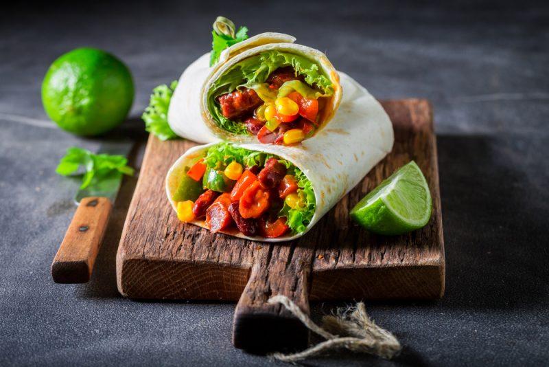 Рецепт буррито в домашних условиях с фото из овощей