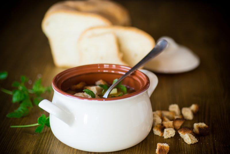 Вегетарианский суп с тефтелями: пошаговый рецепт