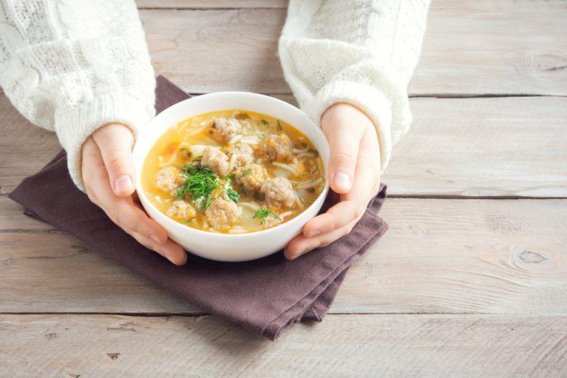 Аппетитные рецепты супа с тефтелями