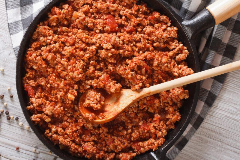 Болонский мясной соус
