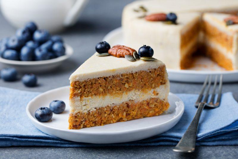 Морковный пирог с апельсином.
