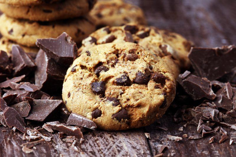 Американское шоколадно-кофейное печенье - пошаговый рецепт с фото ... | 534x800