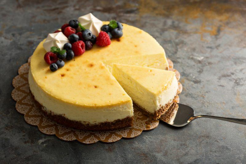 Вкусный чизкейк классический: рецепт с фото