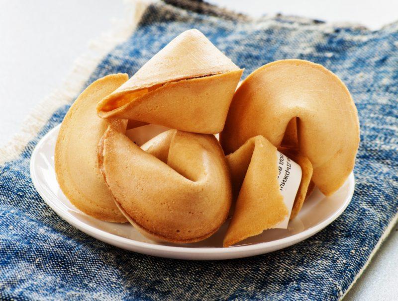 Печенье с предсказаниями: рецепт с фото