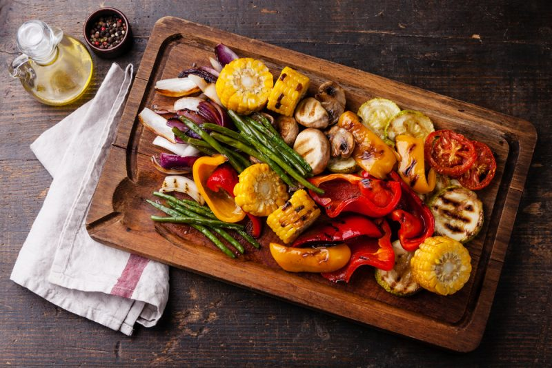 Быстрые овощи-гриль