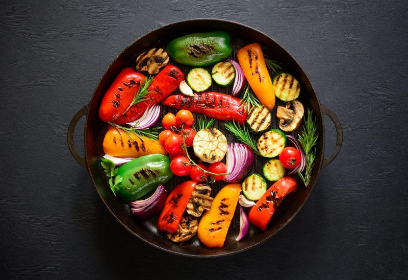 овощи гриль рецепты