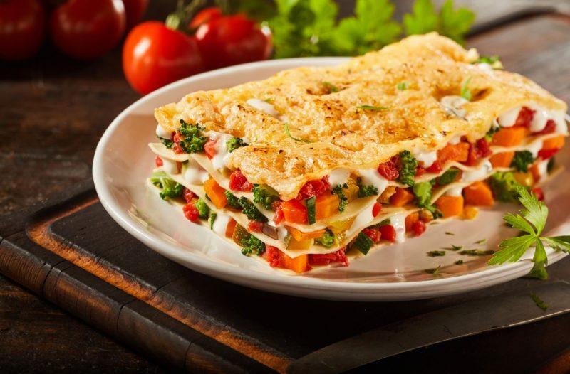 Лазанья рецепт классический с овощами