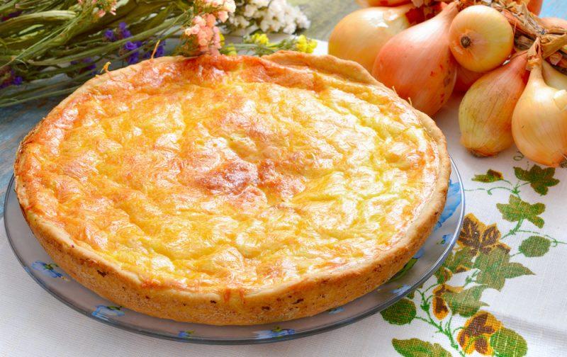 луковый пирог рецепт классический французский
