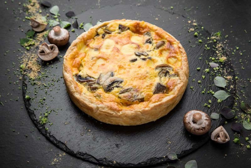 Луковый пирог рецепт с грибами