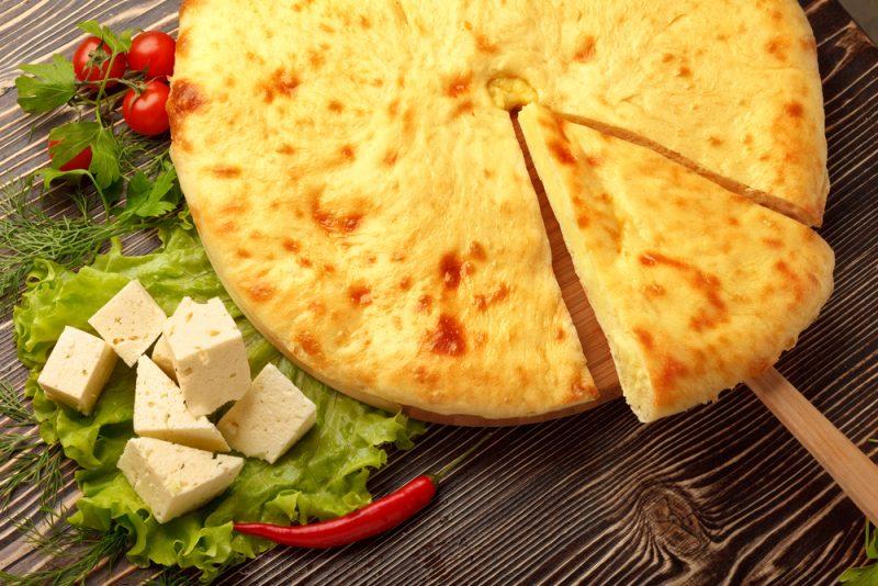 Вкусные осетинские пироги: рецепт с фото с сыром