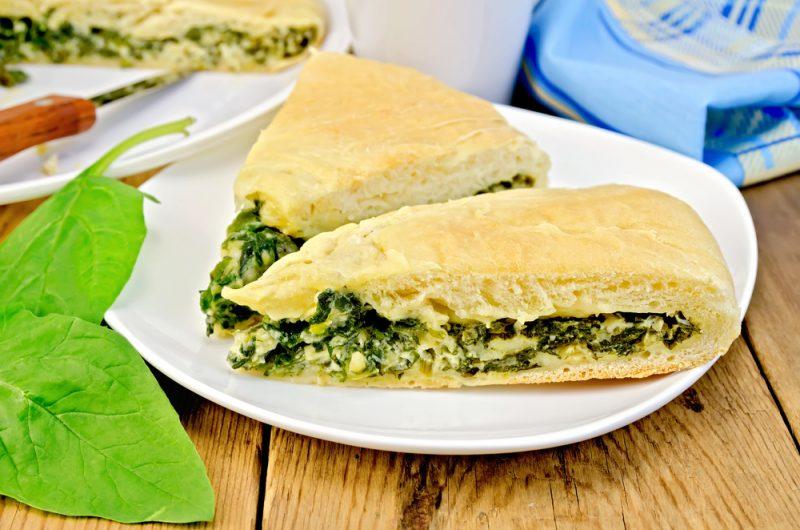 Простой осетинский пирог с сыром: рецепт без дрожжей