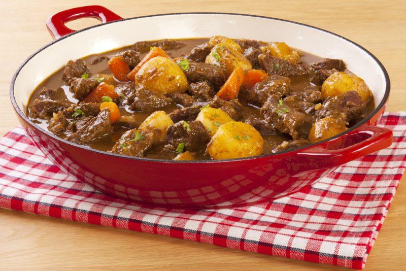 Рагу из картофеля с мясом
