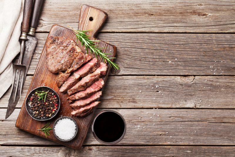 Классический стейк из говядины