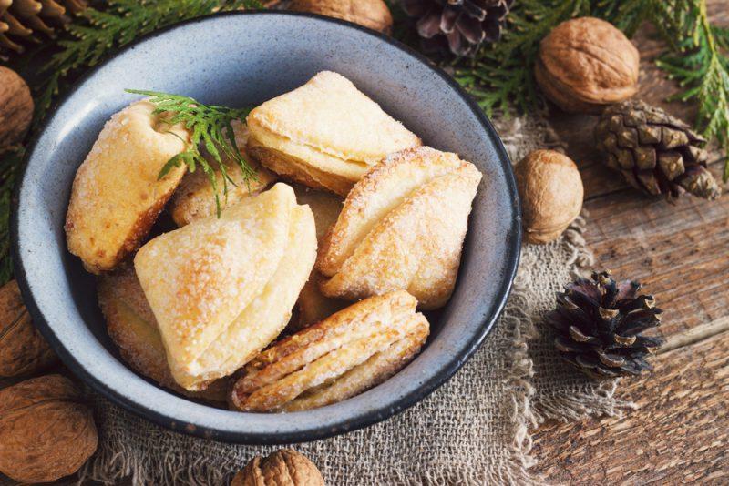 Простое сахарное печенье из творога: рецепт на скорую руку