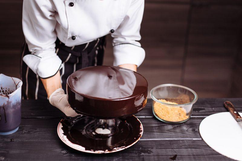 Рецепты глазури для различных десертов