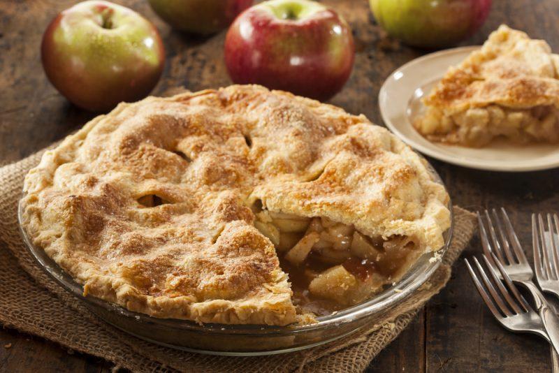 Классический рецепт американского яблочного пирога.