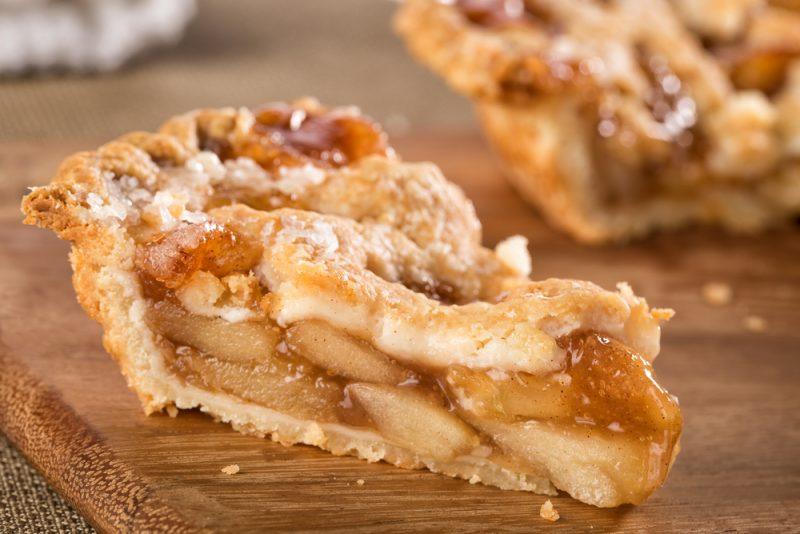 Американский пирог с пряной яблочной начинкой