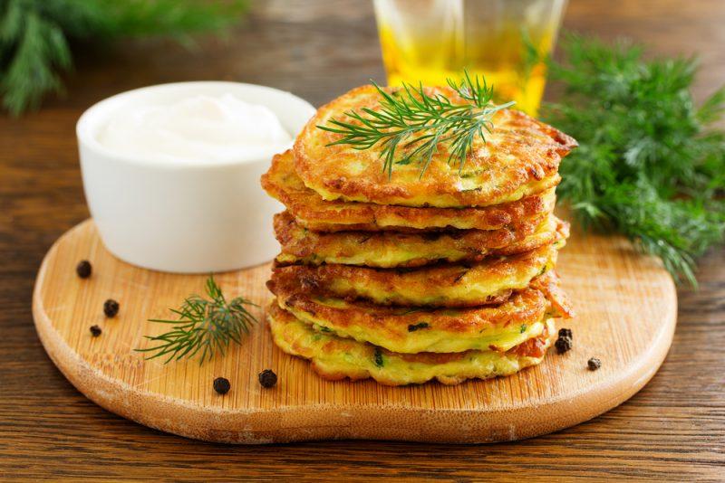 Оладьи из брокколи с сыром пармезан рецепт
