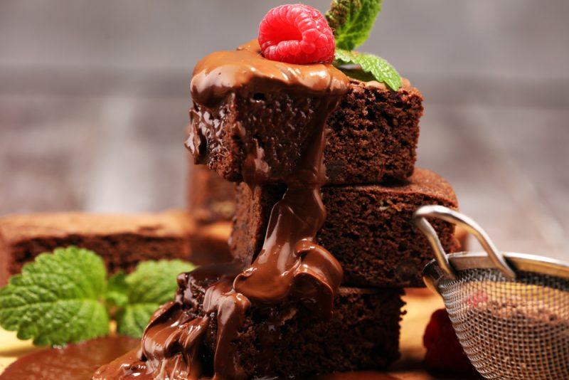 Как приготовить вкусные пирожные Брауни