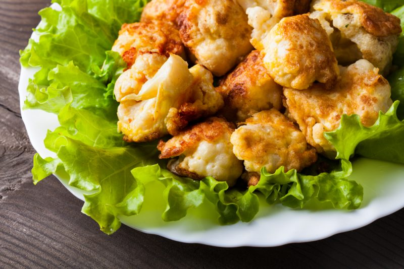 Рецепт цветной капусты в кляре на сковороде