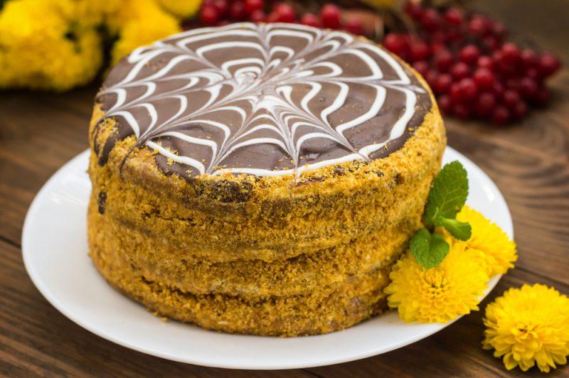 Простой торт Эстерхази: рецепт альтернативный со сгущенным молоком