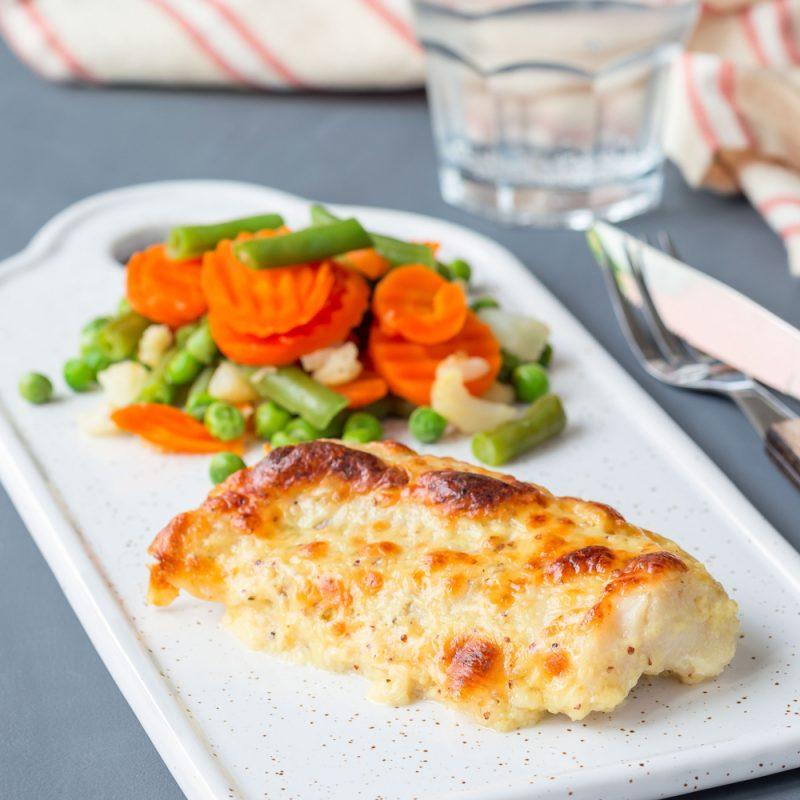 Рыба в духовке под вкусным маринадом