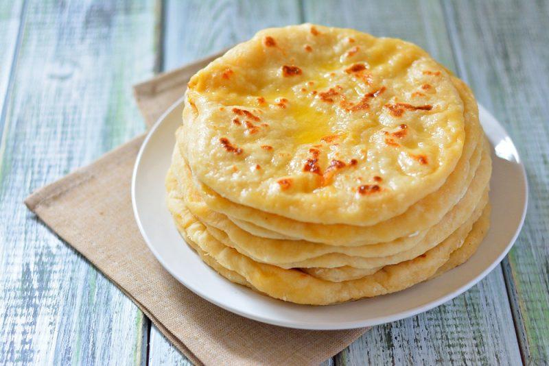Рецепт хычины с сыром и картофелем