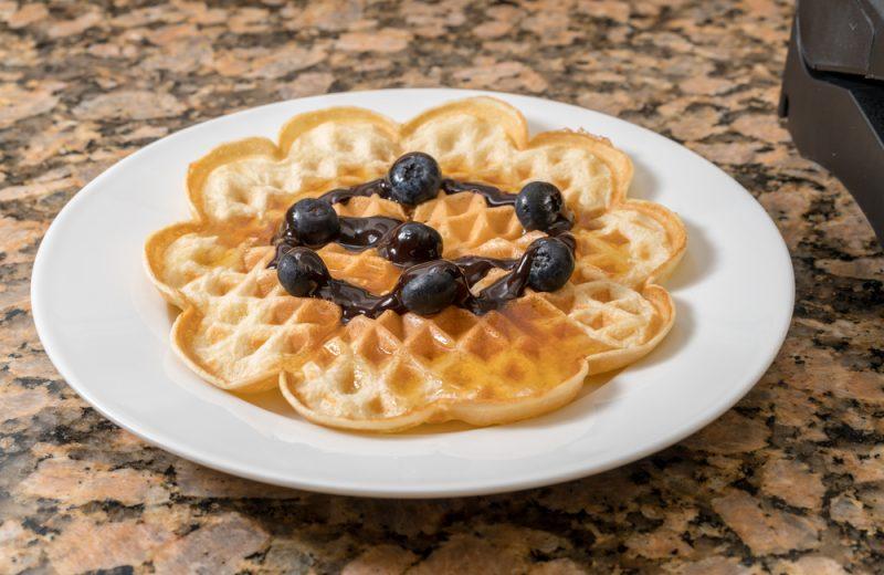 Рецепт домашних вафель в духовке