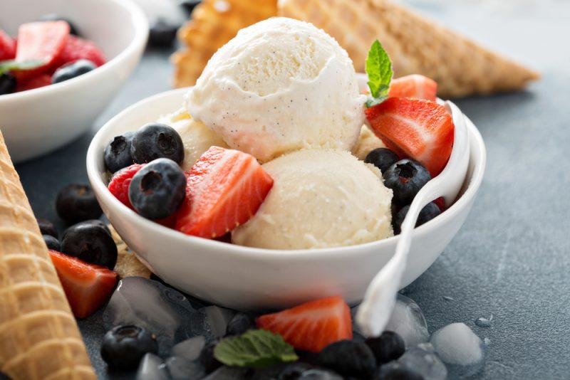 Рецепт мороженого в домашних условиях из сливок