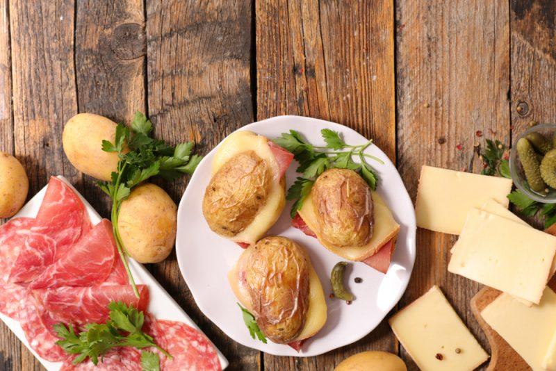 Кораблики картофельные в духовке