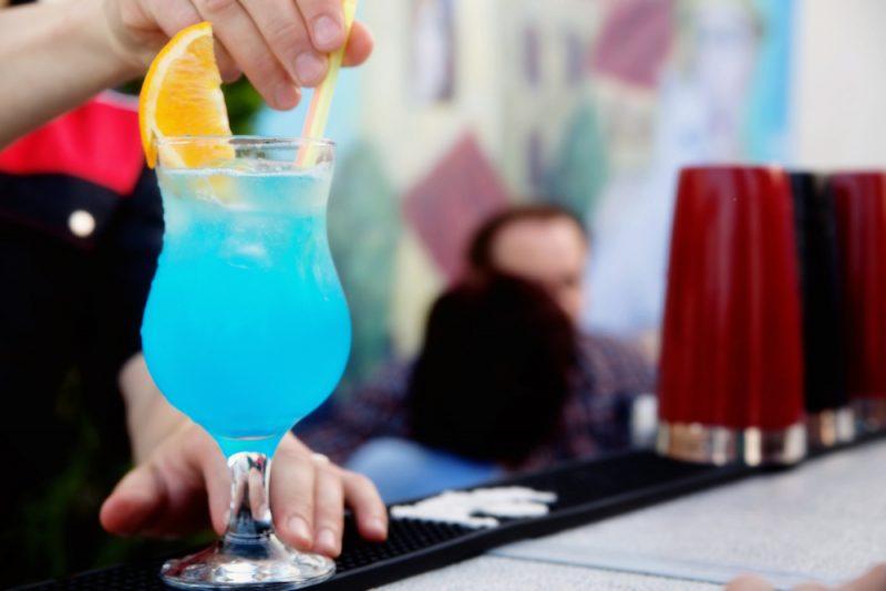 Безалкогольная «Голубая лагуна»