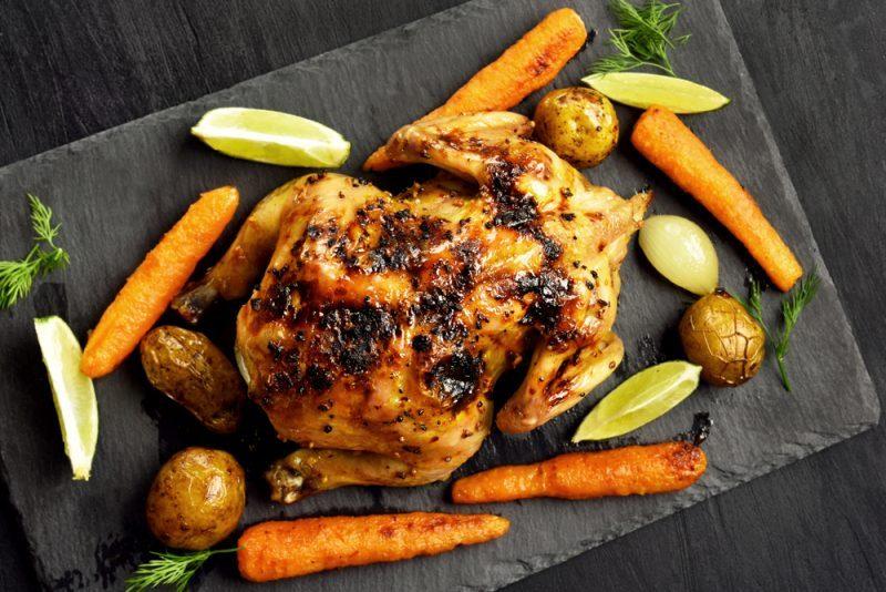 Самая простая курица в духовке