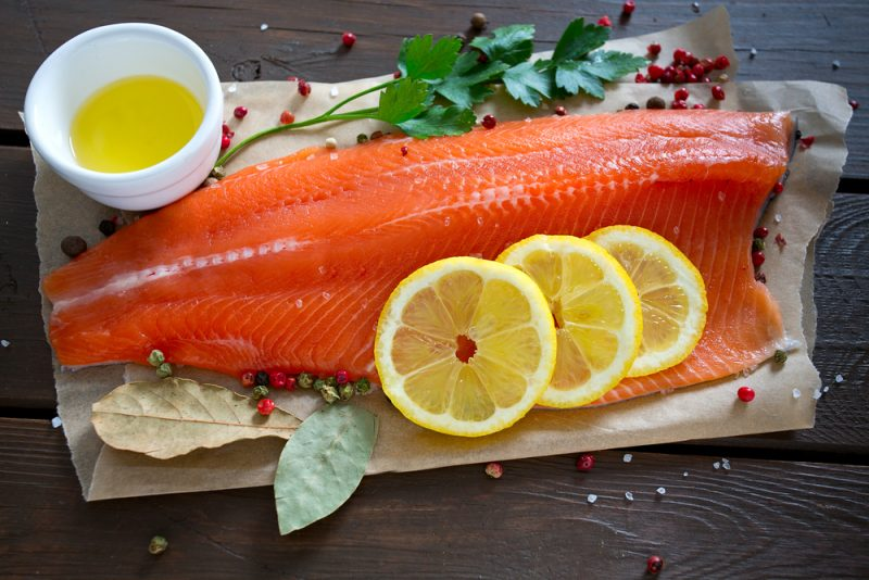 Классический рецепт посола красной рыбы в домашних условиях