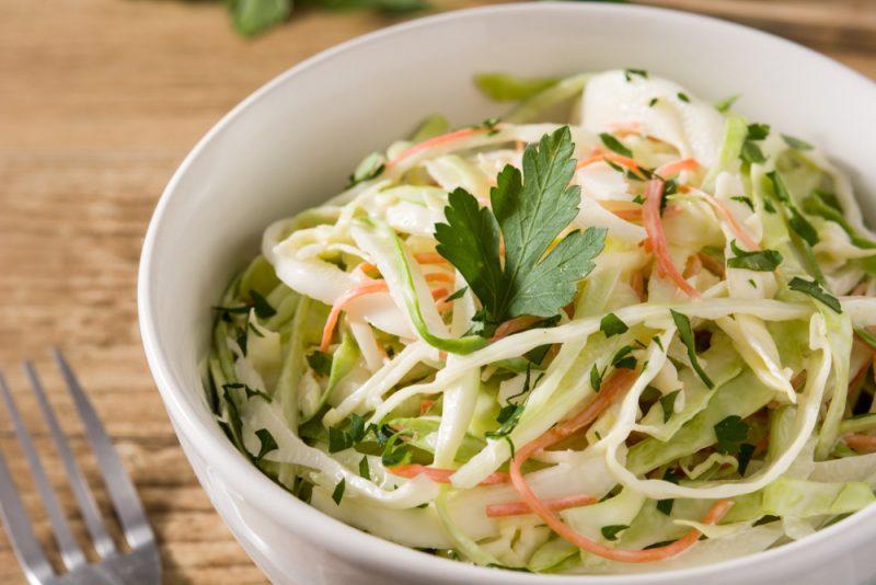 Рецепт витаминного салата из капусты