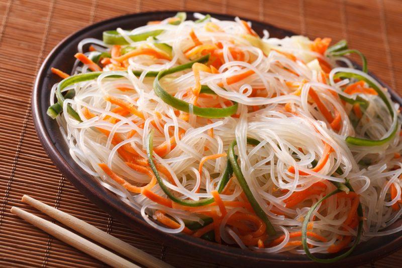 Рецепт салат фунчоза по-корейски