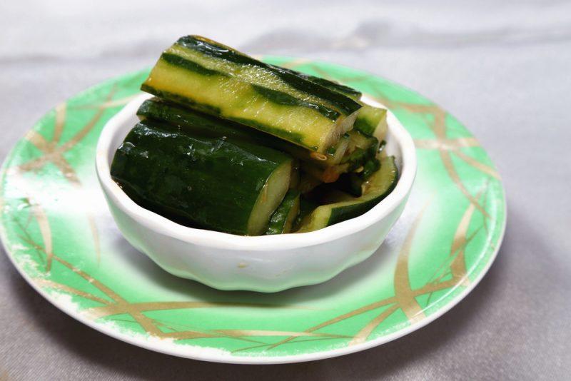 Рецепт салата жареные огурцы по-японски