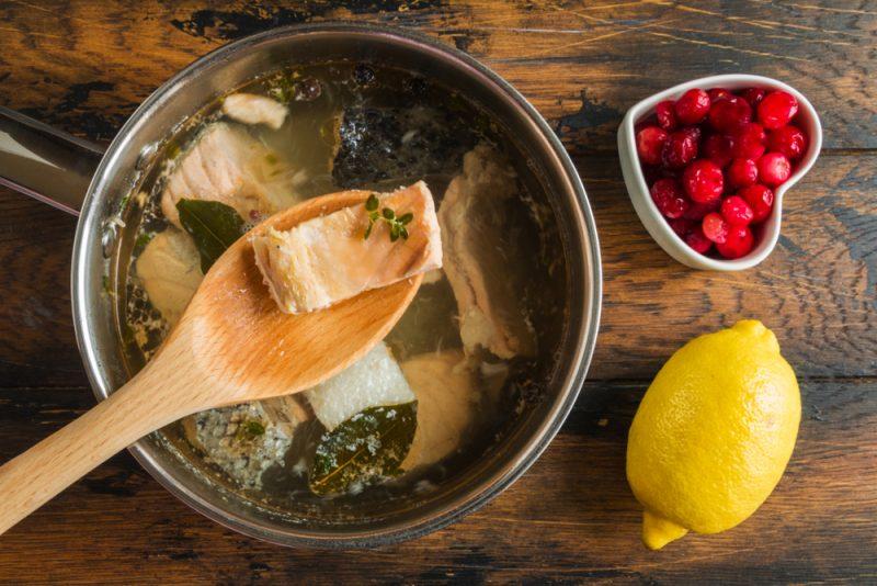 Классический суп из семги: рецепт низкокалорийный