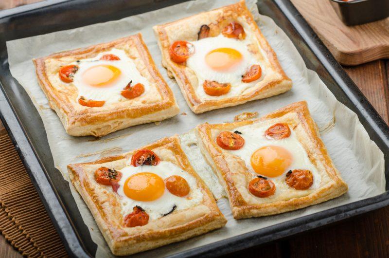 Бутерброды в духовке к завтраку