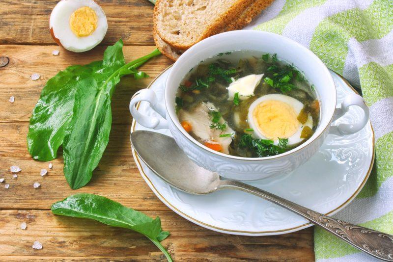 Щавелевый суп: рецепт простой и доступный