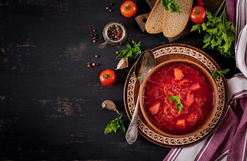 Рецепт классический украинский борщ