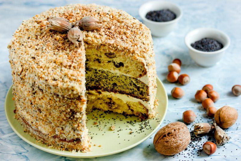 Нежный торт Генерал: рецепт с фото