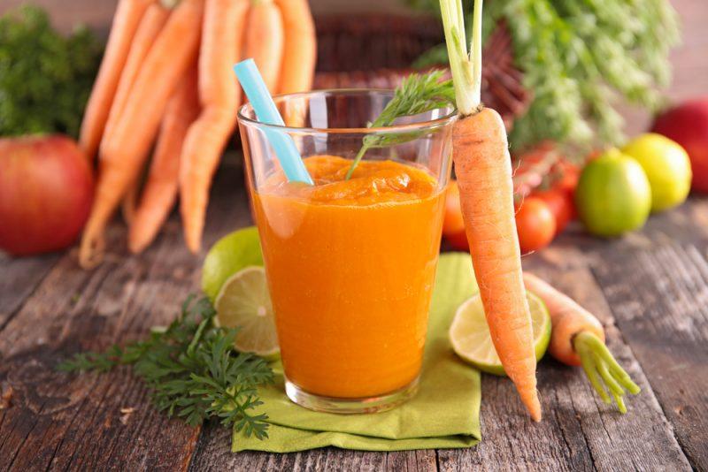 Морковный смузи для отличного настроения