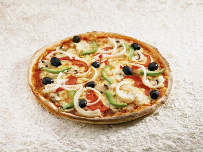 Пицца в лучших традициях Южной Италии