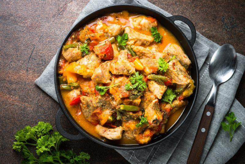 Рецепты рагу из свинины